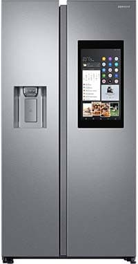 Samsung Family Hub™ RS68N8941SL Wifi Connected American Fridge Freezer fridge freezers with water dispensers