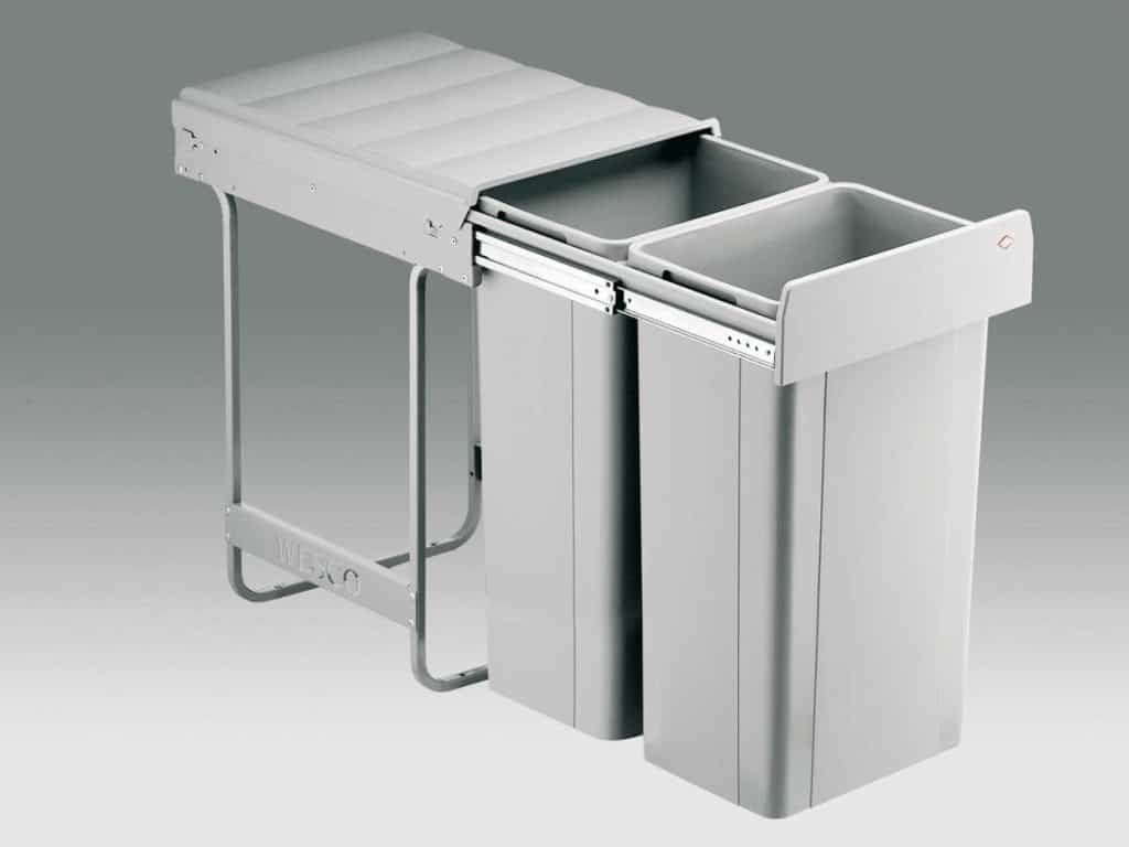 Wesco integrated bin