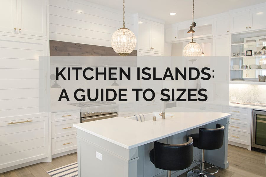 typical kitchen island dimensions kitchen islands a guide to sizes kitchinsider 4263