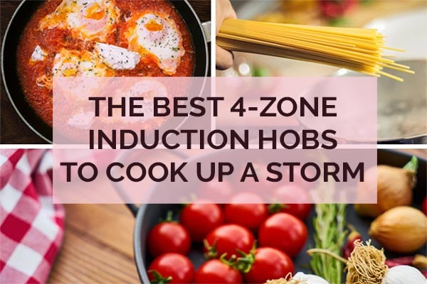 4-ZONE INDUCTION HOBS