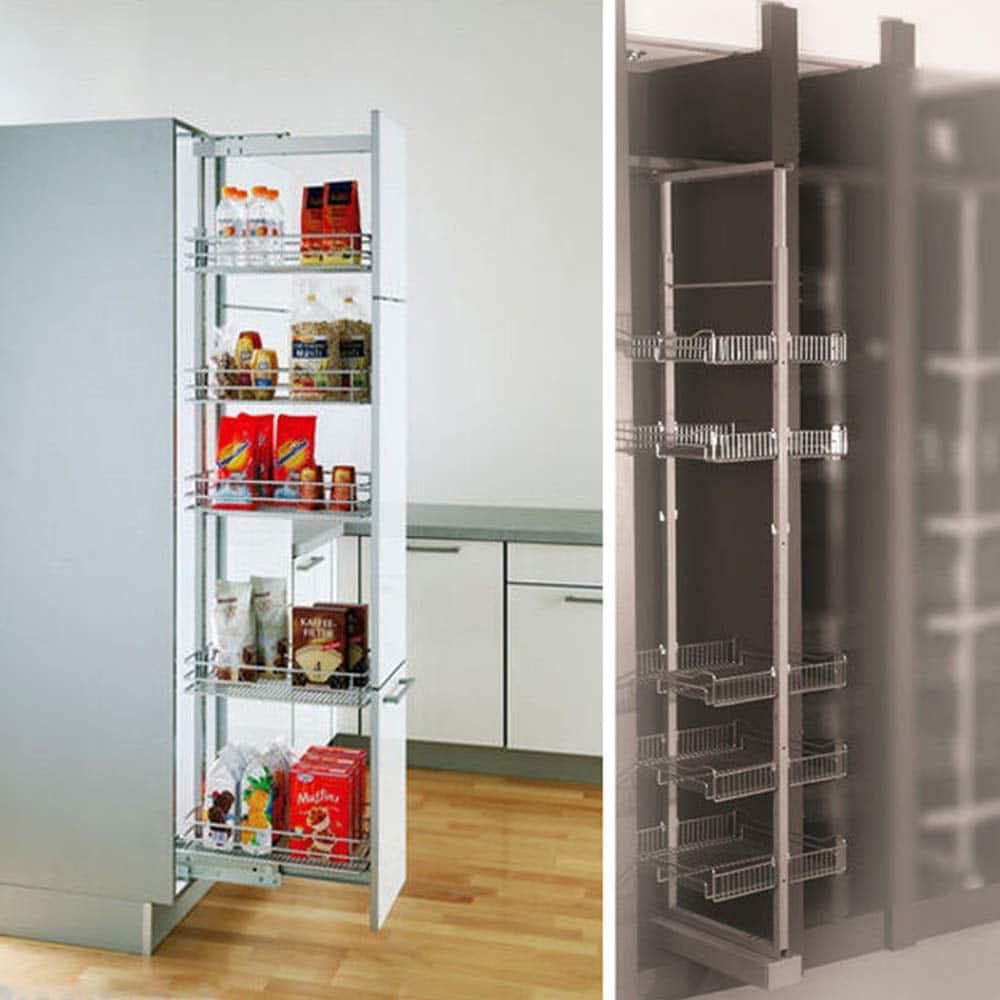 Pull out larder kitchen storage