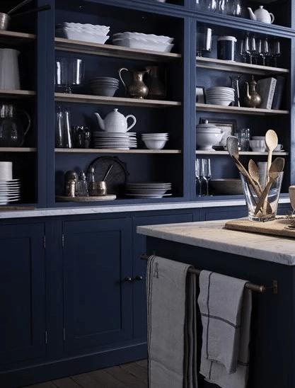 Blue kitchen inspiration