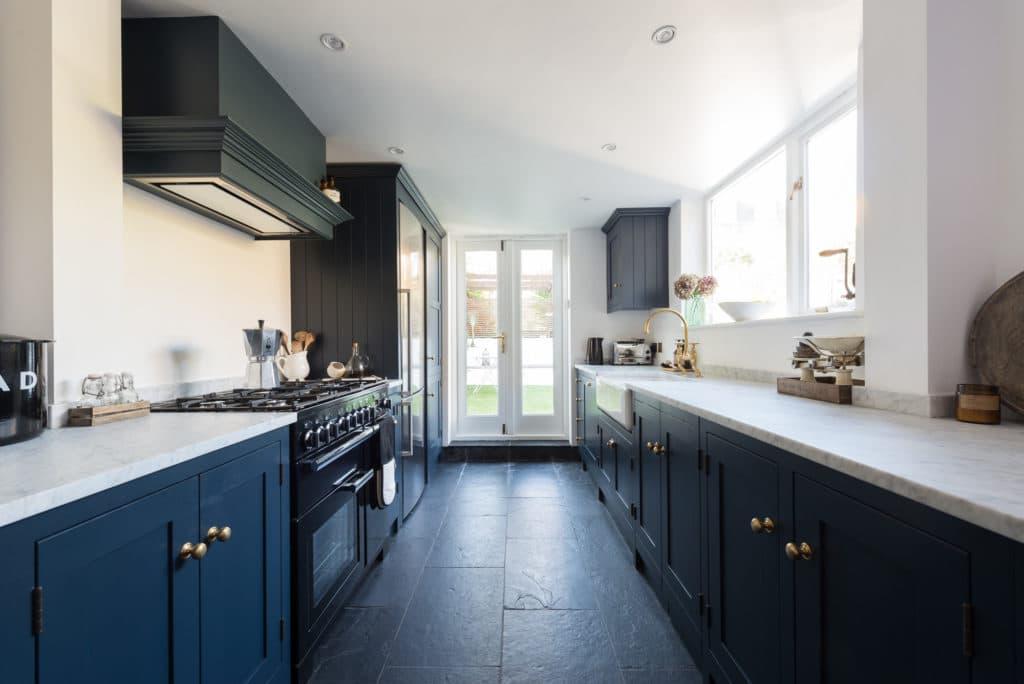 15 gorgeous dark blue kitchens  inspiration and ideas