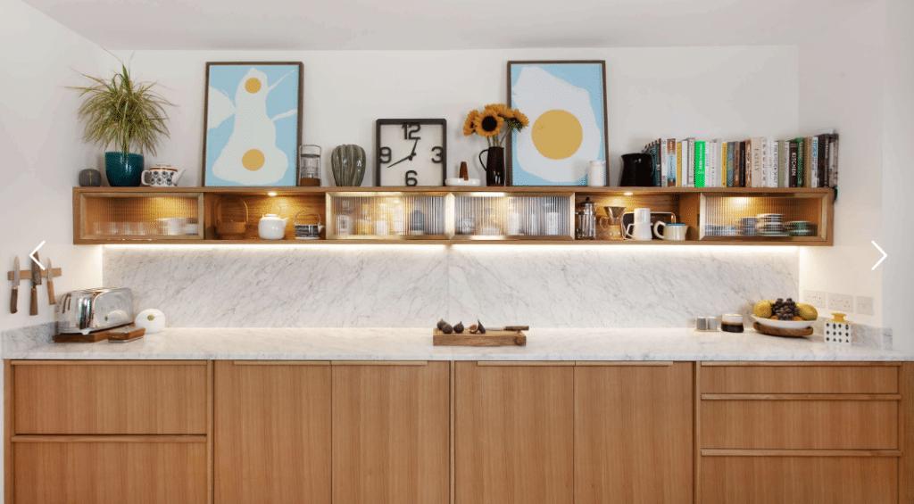 Bespoke Scandinavian kitchen