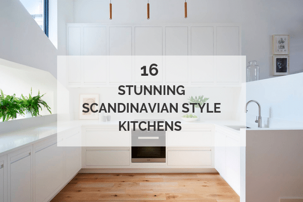 Scandinavian style kitchens