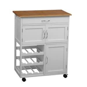 Moveable kitchen island Fenn