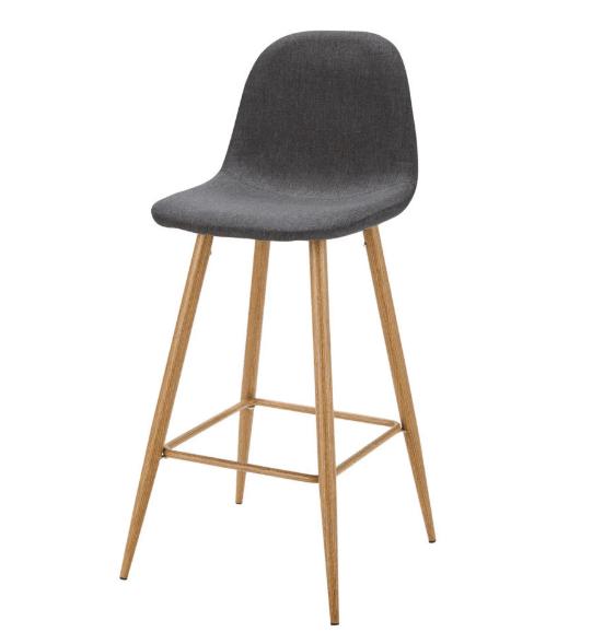 Scandinavian style bar stools