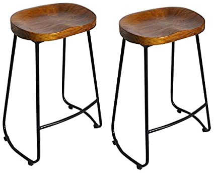 Millhouse Wooden Bar Stools