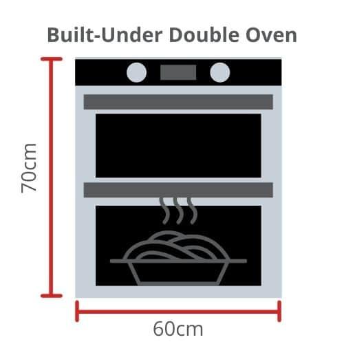 Built-Under Double Oven Size