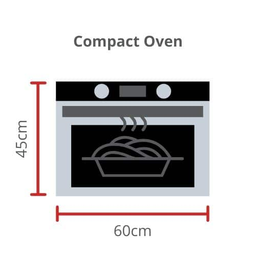 Compact Oven Size