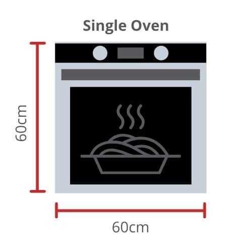 Single Oven Size