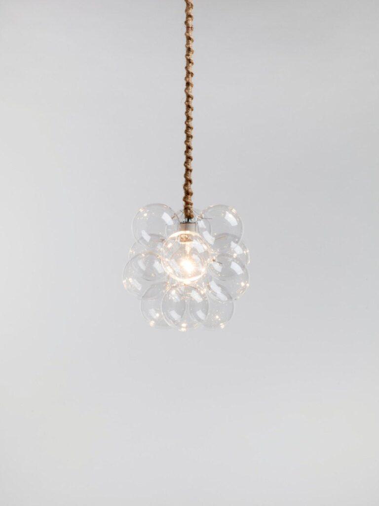 Bubble Glass Pendant Light