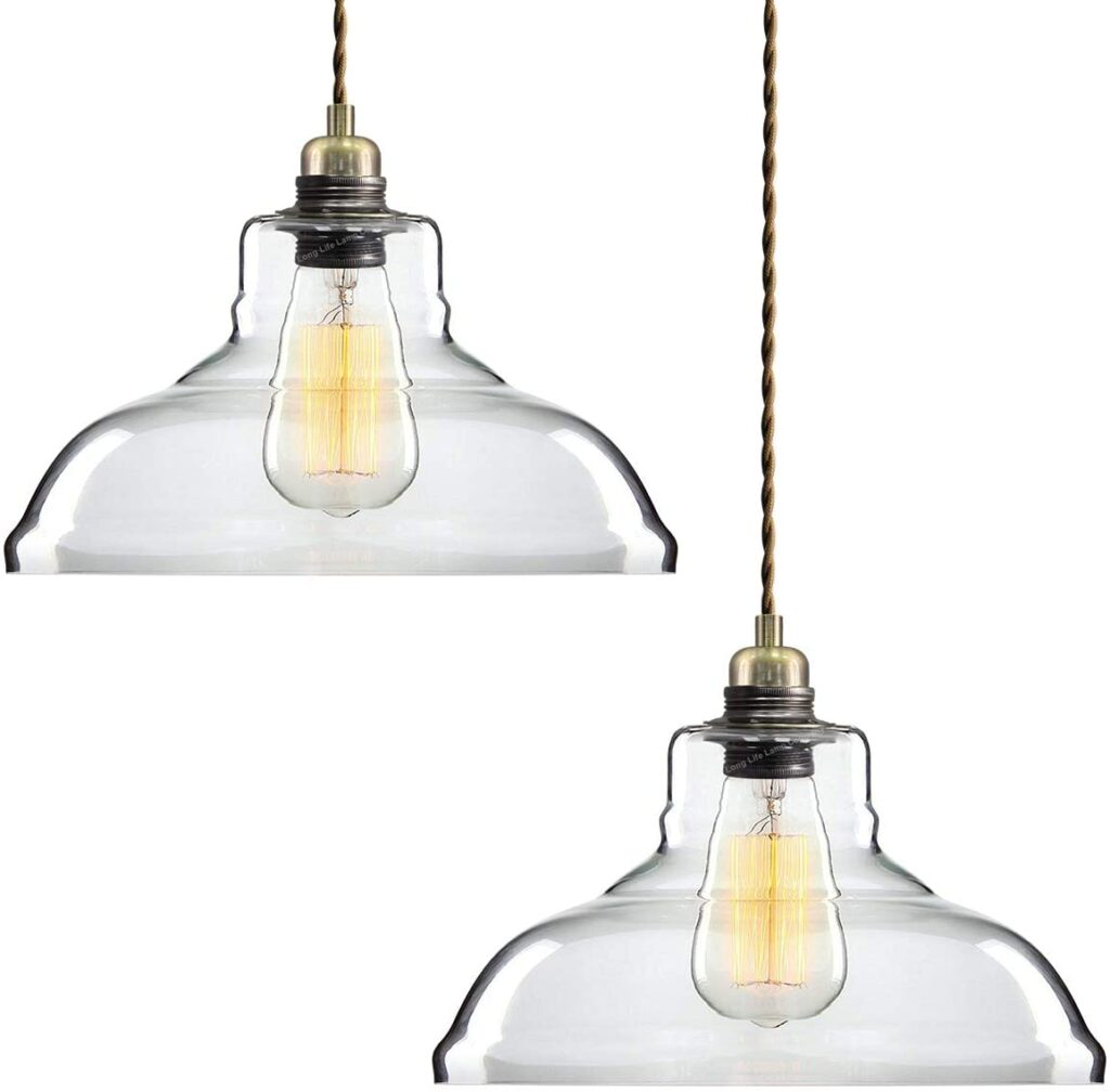 10 Best Glass Pendant Lights Perfect For Kitchen Islands Kitchinsider