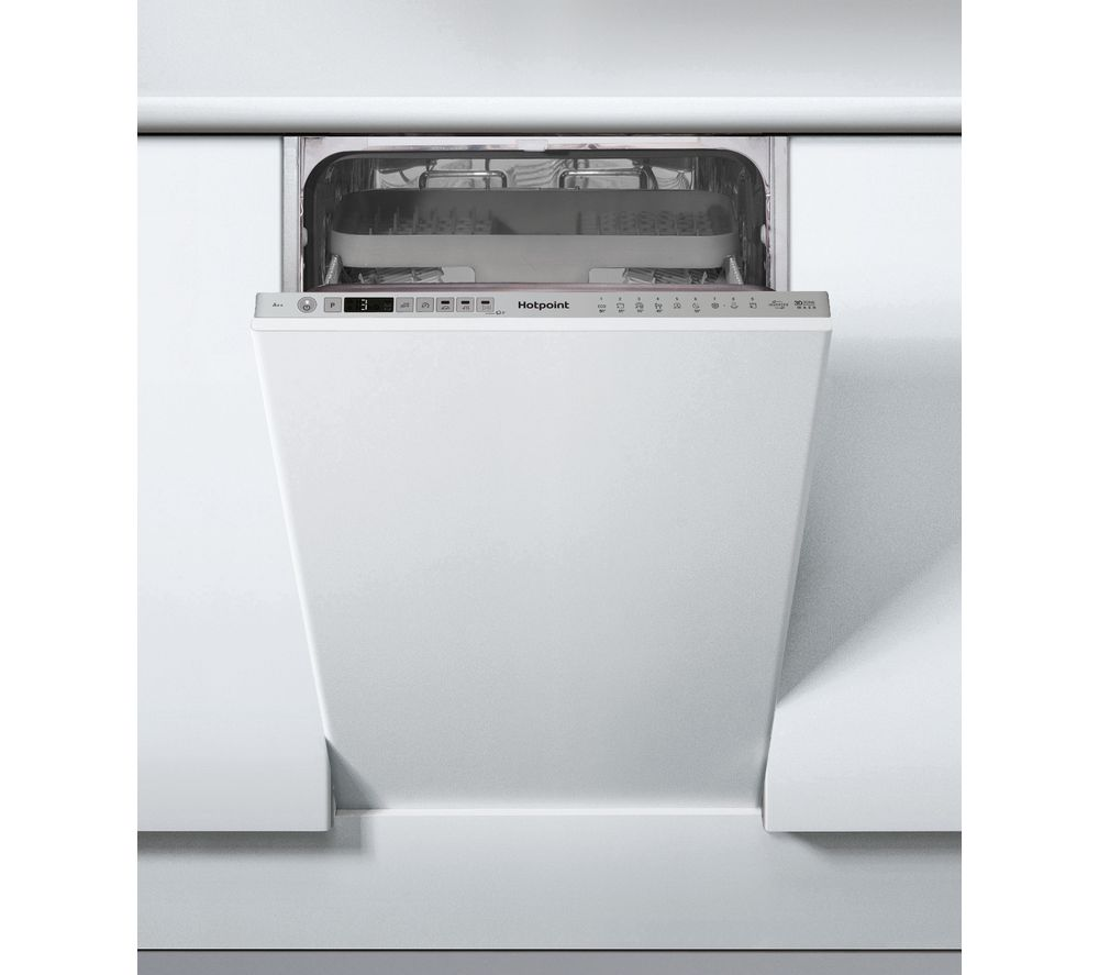 HOTPOINT HSIO 3T223 WCE Slimline Fully Integrated Dishwashers with cutlery tray