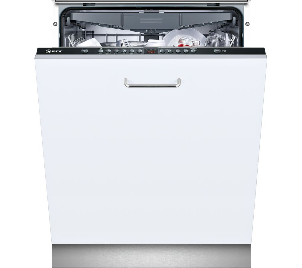 NEFF N50 S513K60X1G Full-size Fully Integrated Dishwashers with cutlery tray