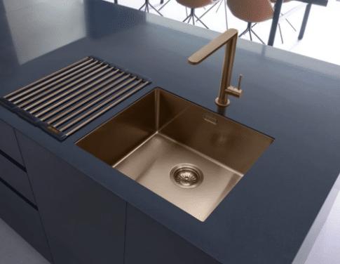 Caple Single Bowl Copper Sink