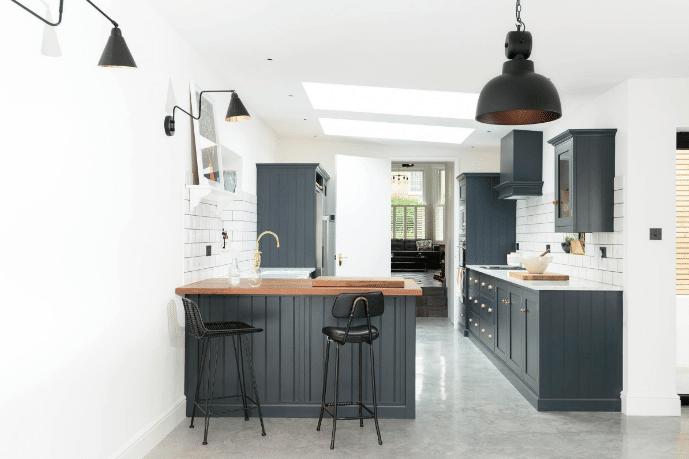 Dark Gray Kitchen Design Ideas