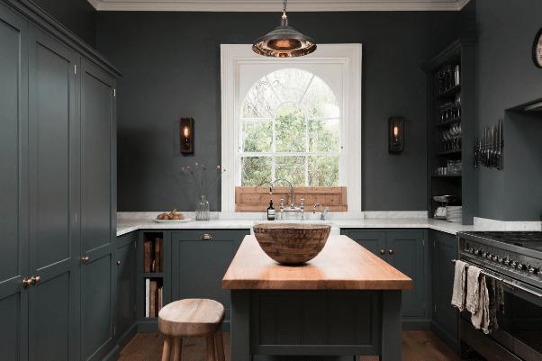 Dark Grey Kitchen Design Ideas