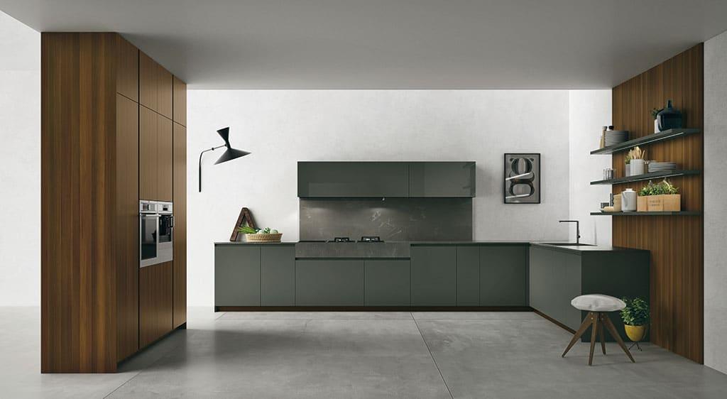 matt grey kitchen design