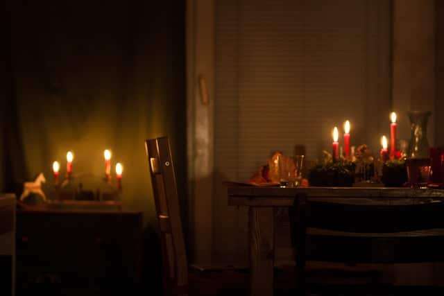 Hygge Kitchen Cosy candle light