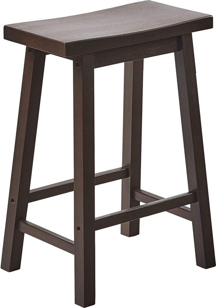 Walnut breakfast bar stool