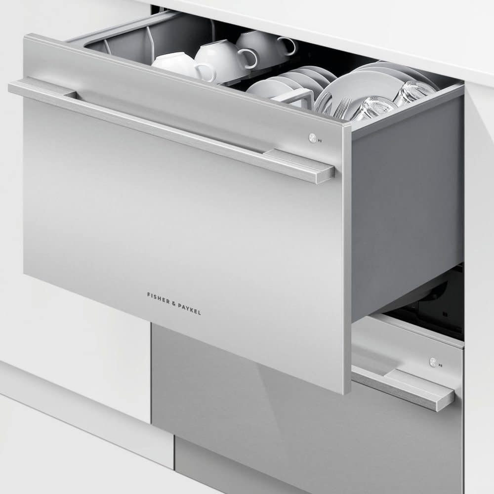 Dishdrawer dishwasher - Integrated vs Freestanding Dishwasher