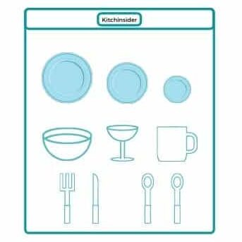 Dishwasher Place Setting Diagram Integrated vs Freestanding dishwasher