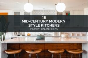 15 Mid Century Modern Style Kitchens - Inspiration and Ideas (1)