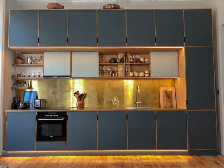 Plywood Kitchens