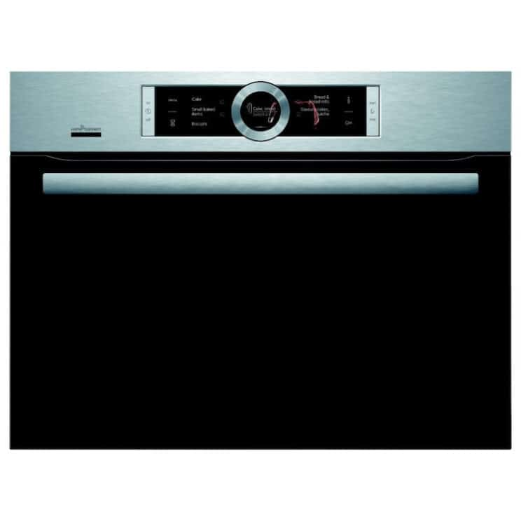 Bosch Serie 8 CMG656BS6B Wifi Connected Built In Compact Oven with Microwave Function
