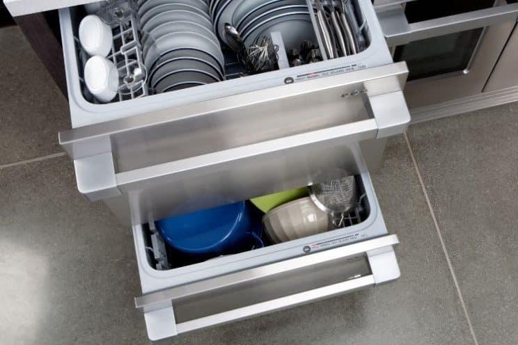 Dishwasher drawer - double drawer