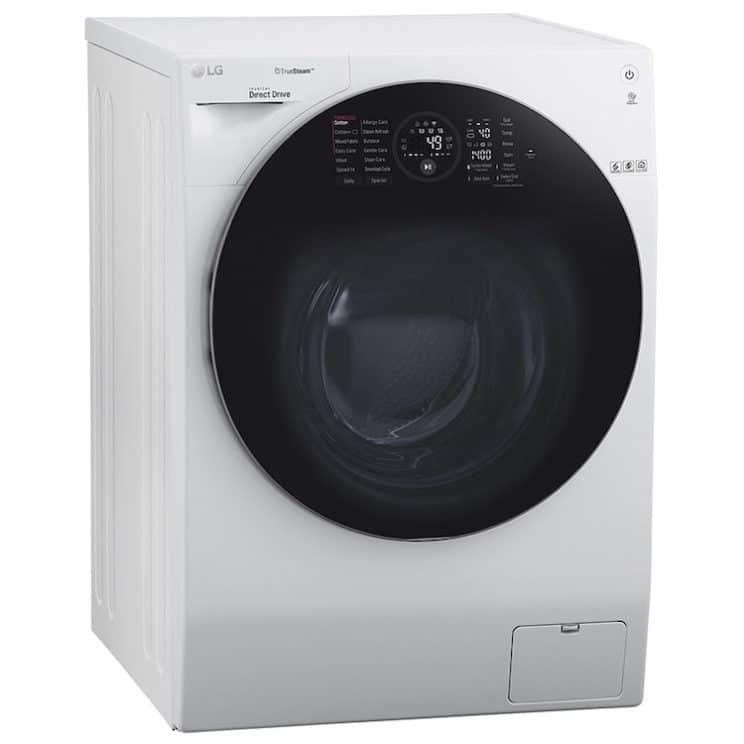 LG TrueSteam™ FH4G1BCS2 Wifi Connected 12Kg Washing Machine Smart Kitchen Appliance