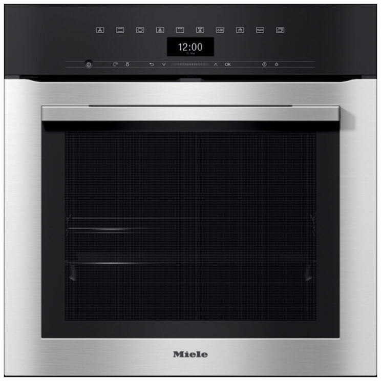 Miele ContourLine H7364BP Wifi Connected Built-In Single Oven With Added Steam Function Smart Kitchen Appliance