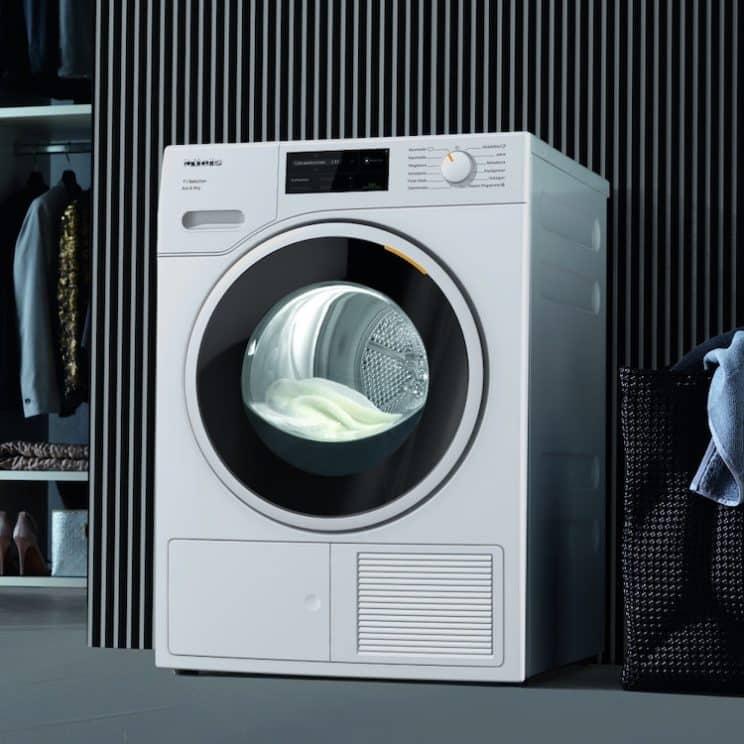 Miele T1 TSJ663WP Wifi Connected 9Kg Heat Pump Tumble Dryer
