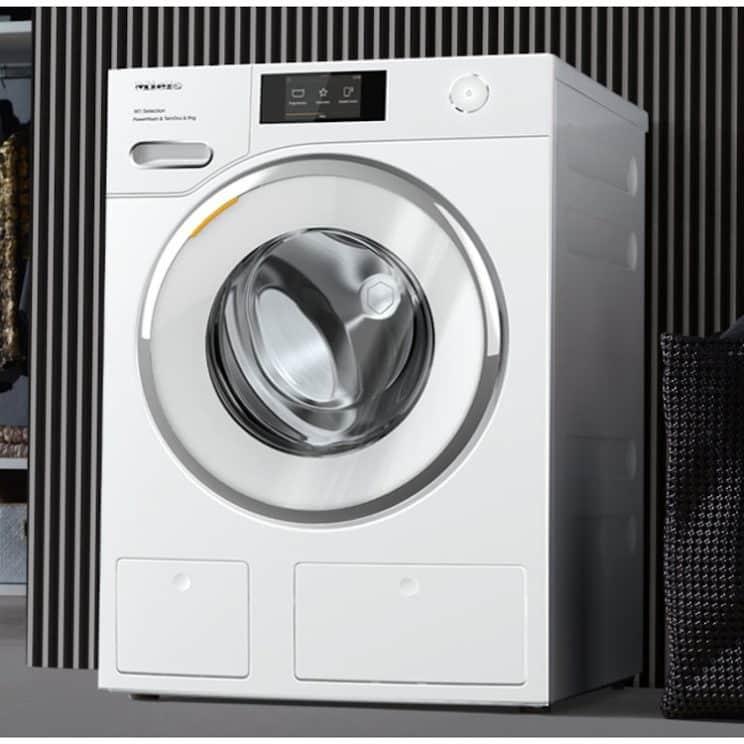 Miele W1 WSR863WPS Wifi Connected 9Kg Washing Machine Smart Kitchen Appliance