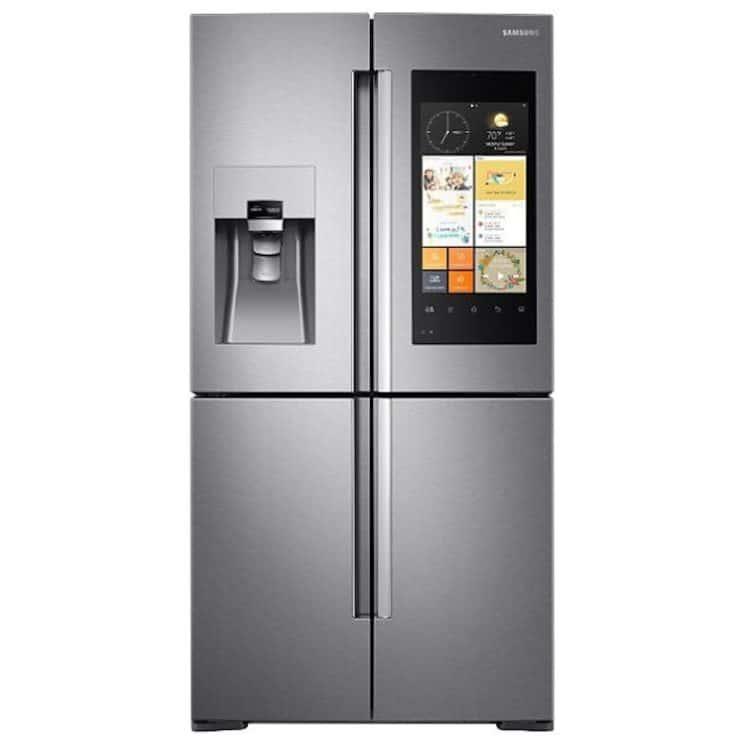 Samsung Family Hub™ RF56M9540SR Wifi Connected American Fridge Freezer Smart Kitchen Appliance