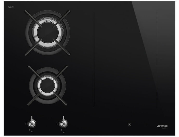 Smeg PM3643D 65cm Frameless Mixed Induction And Gas Hob