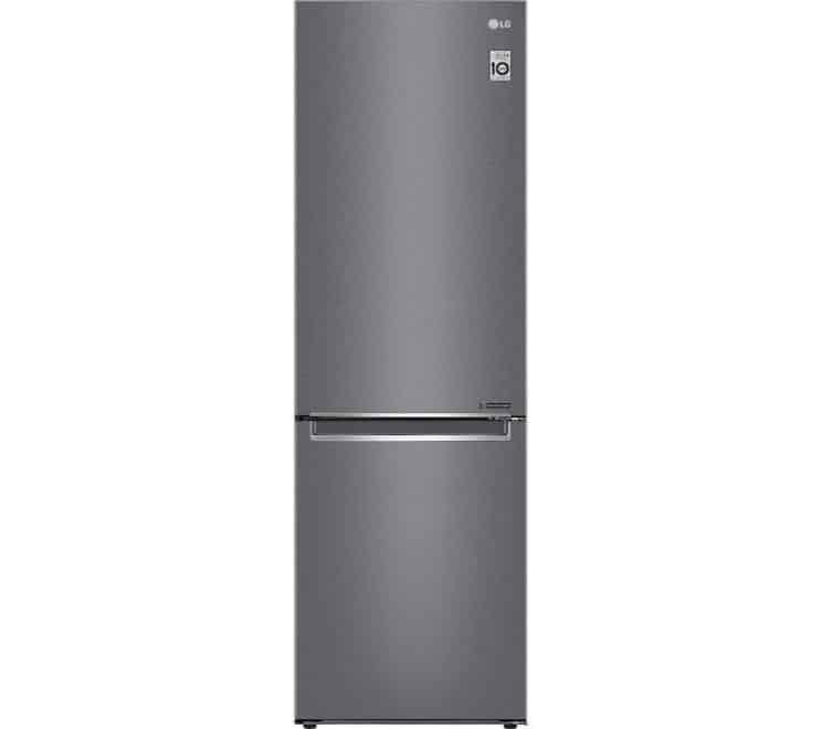 LG GBB61DSJZN 60/40 Frost Free Fridge Freezer - Graphite