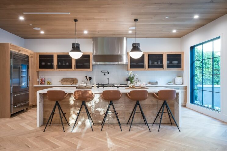 Large Kitchen Island With Seating For Five